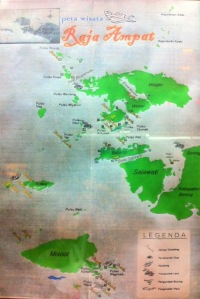 Peta Raja Ampat