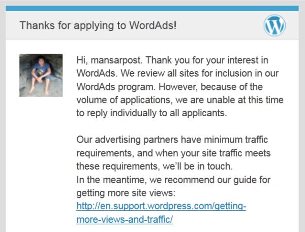 wordads request