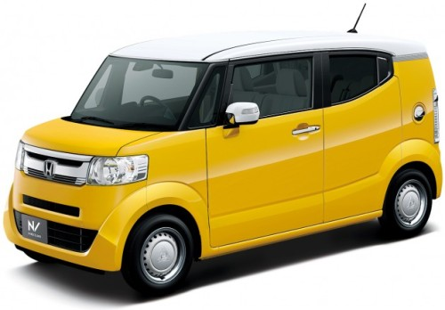 Honda N BOX SLASH kuning yellow studio galeri