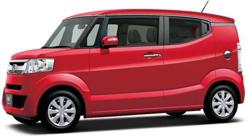 Honda N BOX SLASH merah red studio galeri