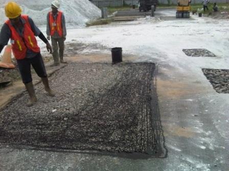Perbaikan Jalan Patching