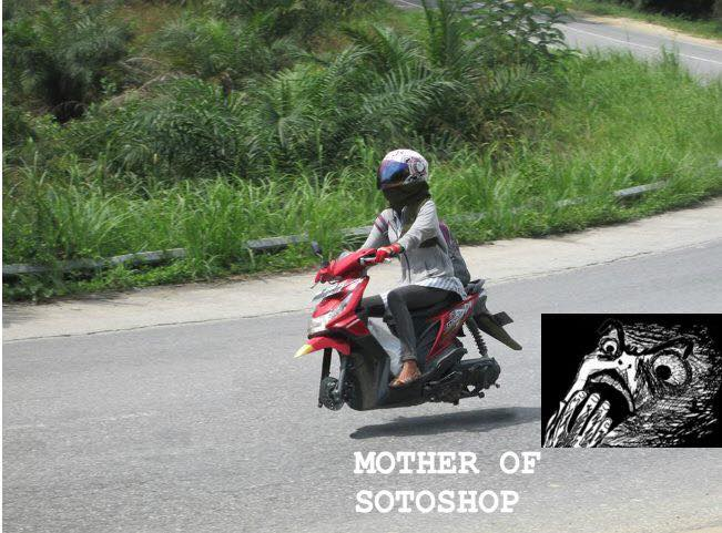 Motor Tanpa Roda Photoshop Mansarpost