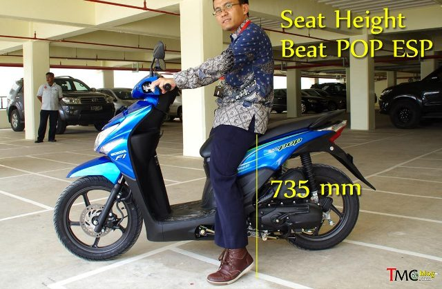 Ergonomi Riding Honda Beat PoP