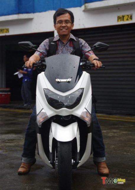 Ergonomi Riding Yamaha NMAX 150-155 - depan