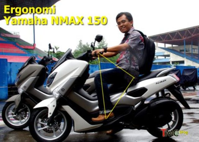 Ergonomi Riding Yamaha NMAX 150-155