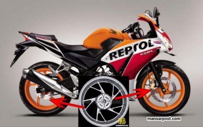 Honda CBR 150 Lokal Velg baru palang Y