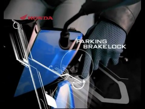 Fitur Parking Brake Lock Honda
