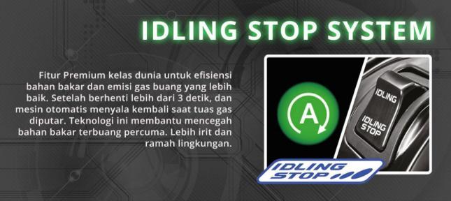 Teknologi Idling Stop System (ISS) - Honda