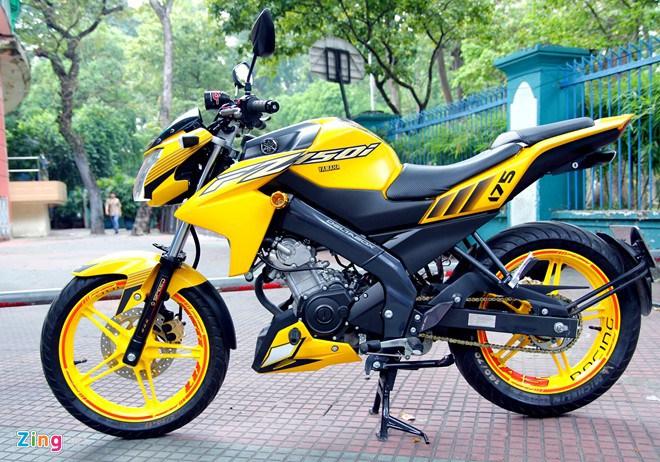 Galeri Modifikasi Motor dengan Warna Kuning Hitam ala ...