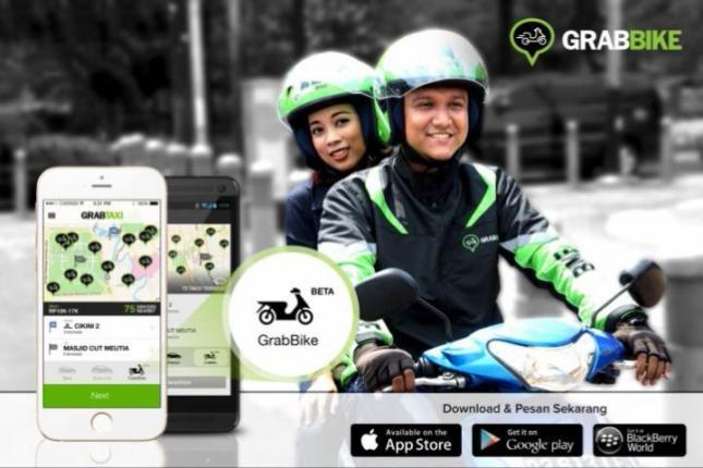 GrabBike - Layanan Ojek berbasis aplikasi