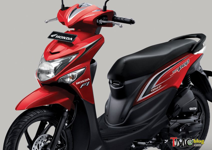 Honda  Beat  PoP eSP Engine Akhir Akhir ini Sering Ketemu
