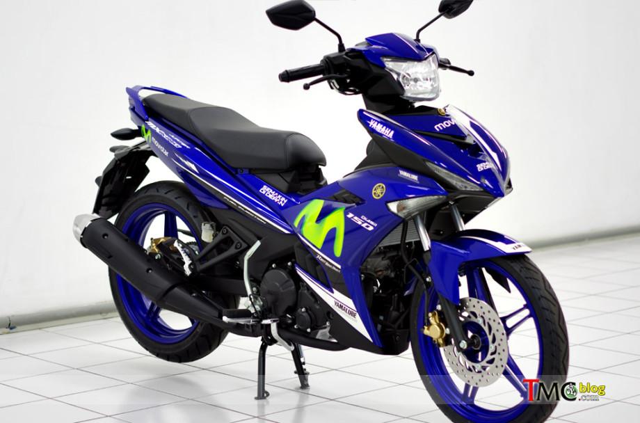 Yamaha juga Merilis MX  King 150 dengan Livery Movistar