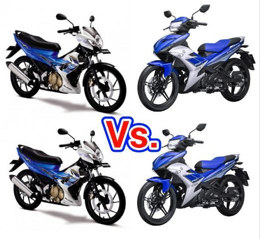 Suzuki Satria F150 vs. Yamaha MX King 150