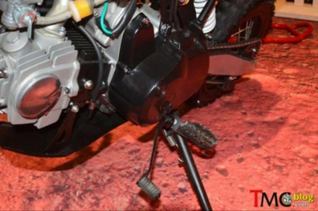 galeri detil viar cross x100 mini moto trail 100cc untuk pemula tuas persneling model ungkit dan injak only tidak bisa pakai tumit
