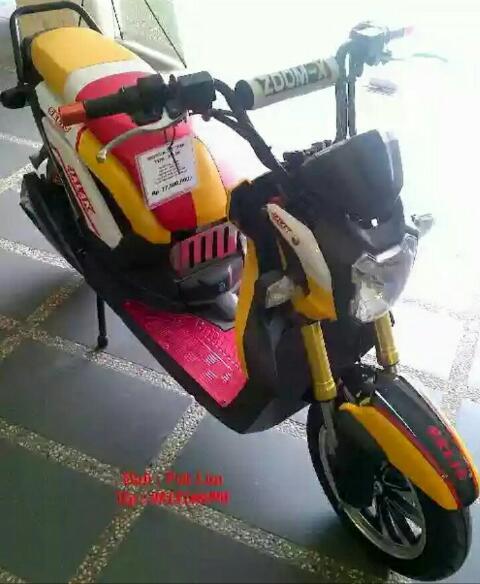 Selis Jalak Motor Listrik Indonesia Yang Bertampang Mirip Honda Zoomer X Harga 20 5 Juta Saja Mansarpost