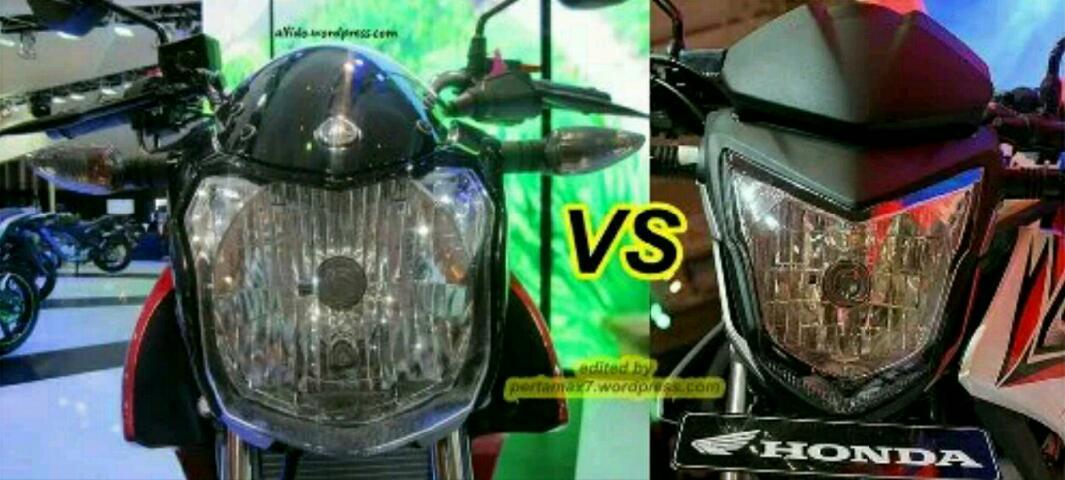 Adu Tampang Depan Honda CB 150 R (Facelift) vs Yamaha New