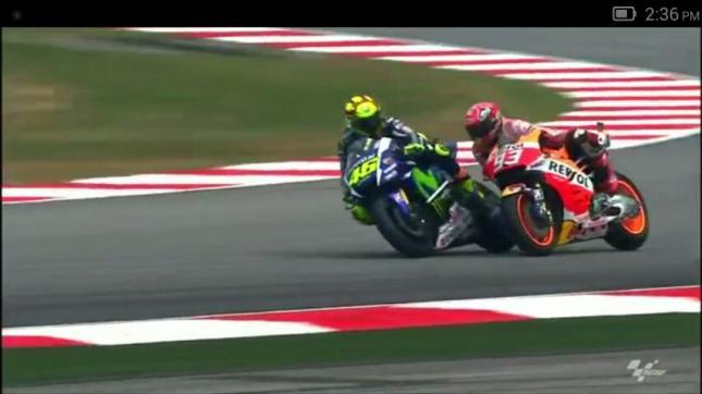 Pertarungan Marques vs Rossi MotoGP Sepang Malaysia 2015