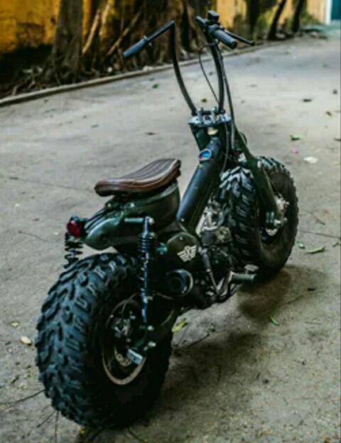 Modifikasi Motor Bebek Jadi Sepeda