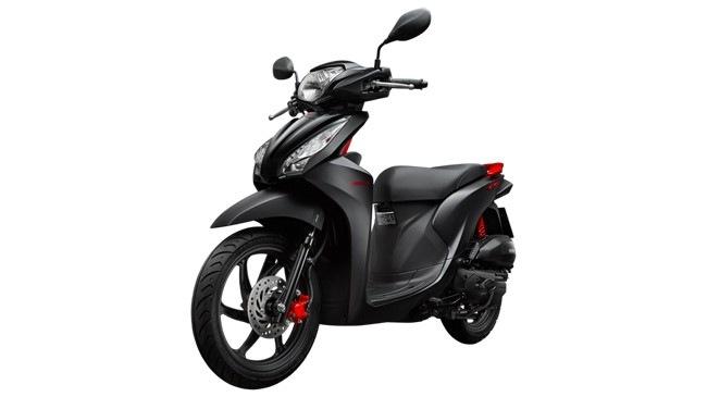 Warna  Baru Honda Vision Spacy Hitam  Doff  Tren Baru