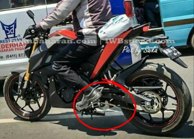 Yamaha MT 15 Facebook: Yamaha MT-15 Terpantau Di Makassar, Warnanya Merah Hitam