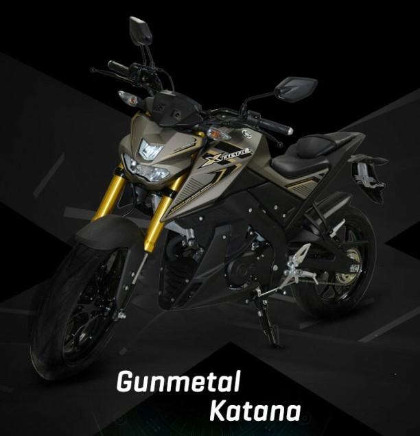 pilihan warna yamaha xabre kaliber 150 m slaz m slash mt 15 indonesia gambar foto studio gun metal emas gold