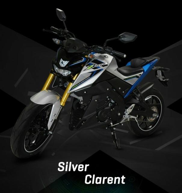 pilihan warna yamaha xabre kaliber 150 m slaz m slash mt 15 indonesia gambar foto studio putih silver biru