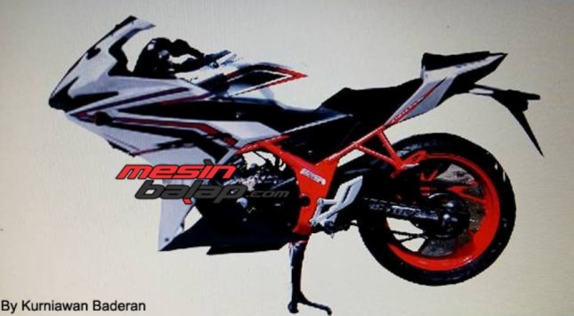 bukan penampakan spyshoot all new honda cbr 150 r facelift lokal 2016 led
