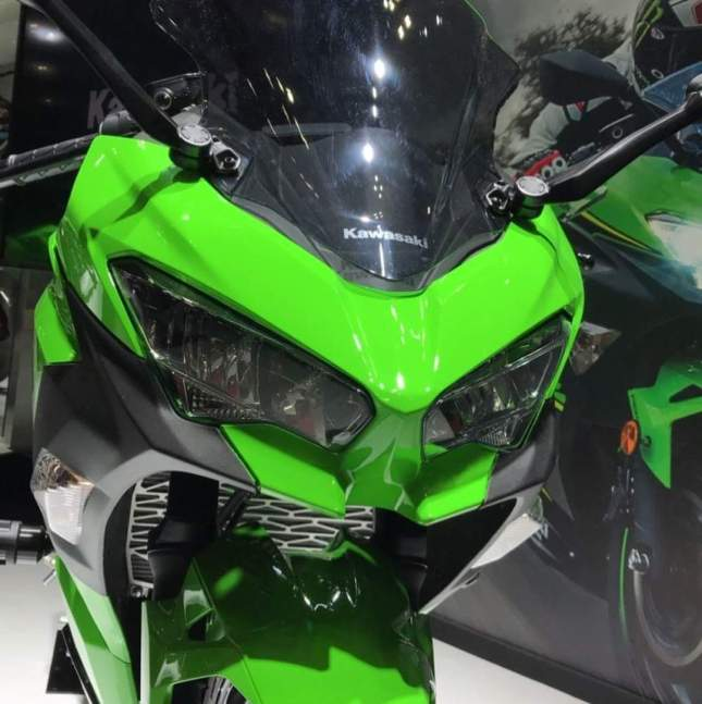 Model Headlamp All New Kawasaki Ninja 250 Model Baru 2018 Mirip Ninja H2
