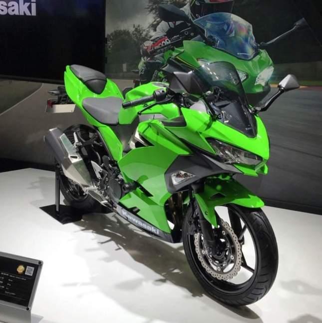 New Kawasaki Ninja 250 Model Baru 2018